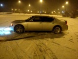 Dodge Charger на снегу