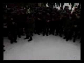 Лезгинка в армии у чеченцев и дагов