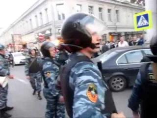 6 мая 2012 - Шествие в центре после Марша Миллионов (2) - задержания