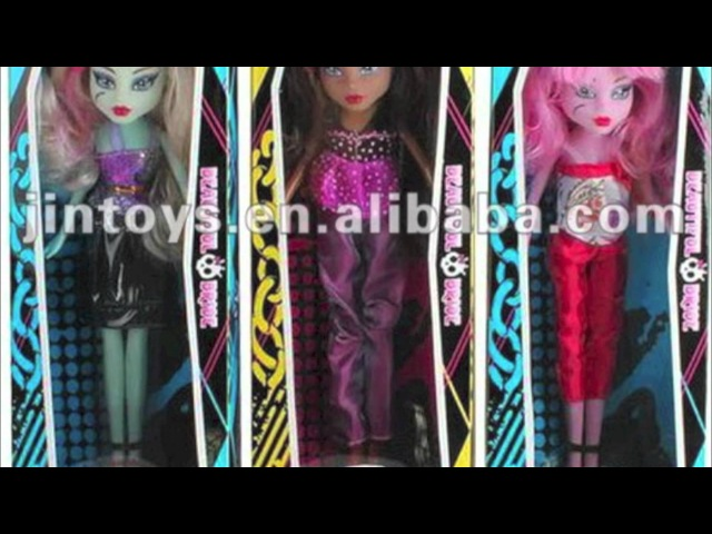 Monster High Ripoffs Three! Copies, Fake Dolls, and Knock Offs