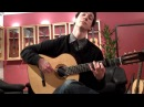 Grisha Goryachev tries out a Reyes flamenco guitar part 1