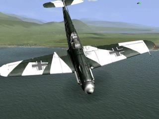 БФ 109-Г2  - бой с 2 самолётами Як-9