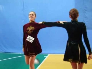 Ирландский танец 2 ручный рил Novosibirsk Open Feis 2012