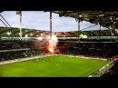 Vfl Wolfsburg - Mainz 05 -Pyrotechnik der Mainzer Fans