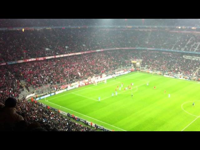 Bayern Monaco - Napoli Salvataggio di De Sanctis allultimo minuto su Gomez