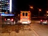 Из-за кортежа Януковича гаишники остановили