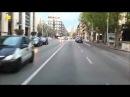 Як пропускають швидку допомогу в центрі Тулона (Франція)