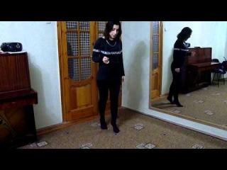 Второй урок курса лезгинки для девушек