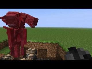 Обзорчик модов на Minecraft№1 Чужой против Хищника!!!
