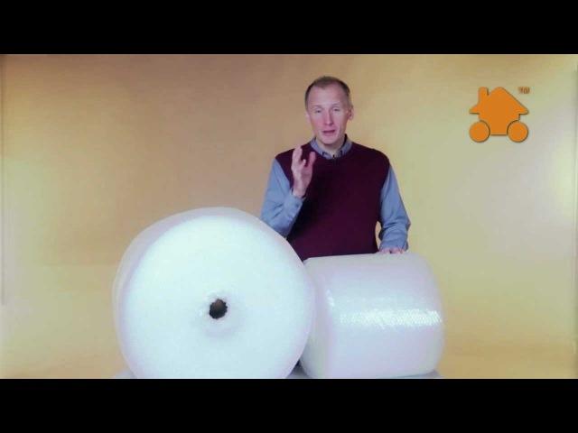 Воздушно пузырчатая пленка. Рулоны 0,4 на 50 и 100 метров.