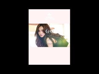 SNSD Yuri - CeCi vol.6 BTS