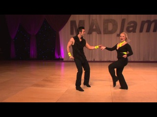 MADjam 2013 Classic Jordan Frisbee & Tatiana Mollmann-Bennett