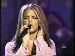 Jessica Simpson -  I Wanna Love You Forever (LIVE)
