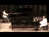 Astor Piazzolla - Soledad for 2 pianos, Tamara Rumiantsev & Jeroen van Veen