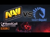 Na`Vi vs Liquid @ RaidCall Dota 2 League