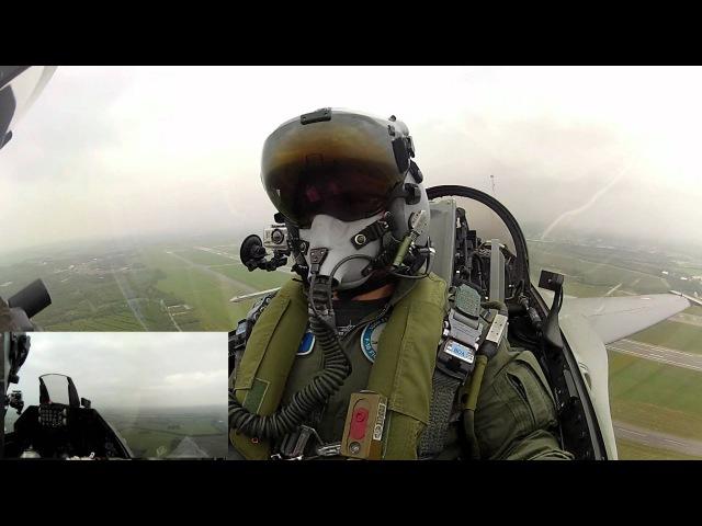 Royal Danish Air Force F-16 Demo Flight Full Res HD 1080p