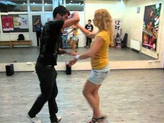 Natalie Karnaukh & Oleg Sokolov - LA lesson 06.06.12
