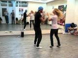 Oleg Sokolov & Natalie Karnaukh - LA lesson 01.10.2012