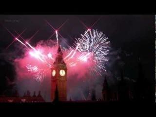 Салют в Лондоне (Рождество, Новый 2012 год)