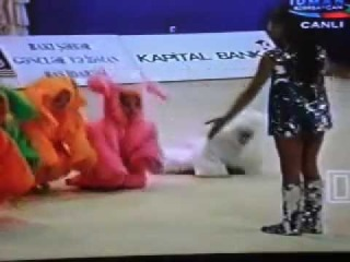 Gimnastka Gunay Nuriyeva (trener Sevil Mamedova).mp4