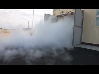 Испытание системы газового пожаротушения