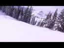 Petite frayeur en moto neige