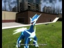 Zekrom and Reshiram vs Dialga and Palkia Garry´s Mod