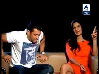 Salman Khan and Katrina Kaif exclusively speak to ABP News