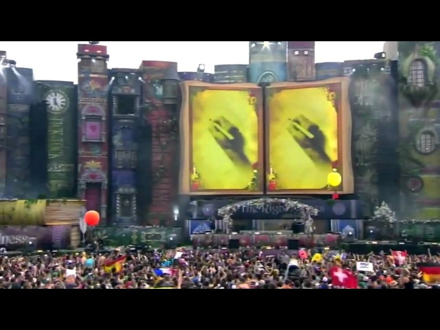 Hardwell Showtek-How We Do (HD Live Tomorrowland 2012 Belgium)