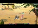 POWER RANGERS ONLINE Gameplay Newbie Dungeon Pink Power by Steparu