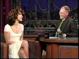 Jennifer Lopez talks Ben Affleck on Letterman &amp Promotes