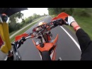 SpeedRacing Supermoto CityRide KTM EXC 450 GoPro Hero2