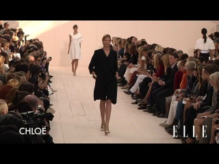 Chloe 2013 SS Runway Show Paris Fashion Week ELLE TV