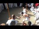 Abadá Capoeira - Aulão - Guimarães/Portugal 2012-7-7. Narizinho vs Miau - Jogo de Santa Maria