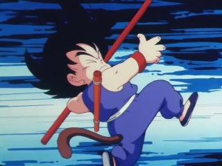 Dragon Ball - 1 серия [озвучка Sahawk]