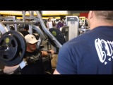 Jay and winner of Fat Gripz contest Lee train chest part 1