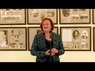 Анна Поспелова - открытие выставки.