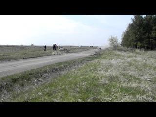 Мы на ралли-спринте Победа, Катайск, 8 мая 2012. СУ-2,5,8 - Оконечниково. Прямик с подбросом