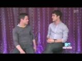 Funny moments with Darren Criss and Chris Colfer {Part 1}
