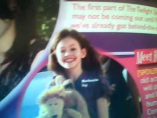 The real Renesmee - (Picture from Tiger Beat magazine)