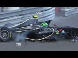 Monaco Conor Daly Horror Crash 2012 GP3 Series in