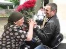Мегрел приехал к Матери в Гали, Грузия, АР Абхазия