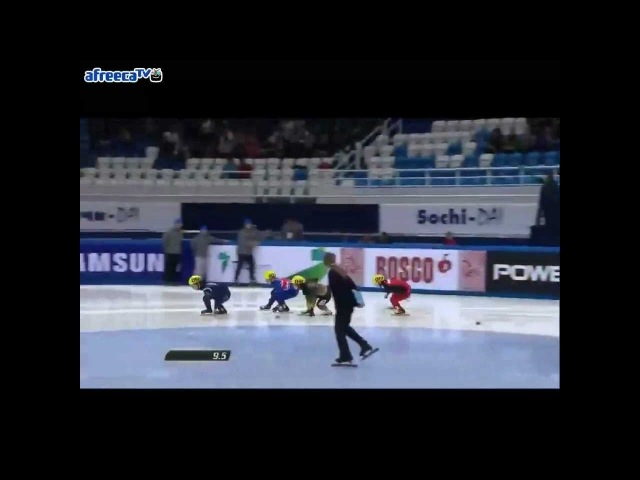 2012/2013 Short Track World Cup5 Women's 1000m Semifinal 1