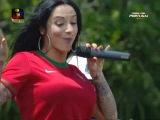 Todos com Portugal - India e Ana Malhoa «as cores da bandeira»