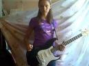 Девчонка играет на гитаре - Rammstein - Donaukinder