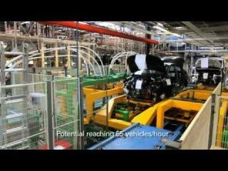 Производство автомобилей Пежо 301. На заводе Пежо