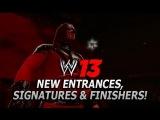 WWE 13: Kane, Triple H (DX), Ken Shamrock, Undertaker, Kevin Nash, Justin Gabriel, JBL & Kharma