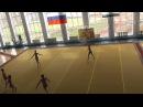 Первенство области по групп. упражнениям 2012 памяти Брохес 2 взр. разряд Юность команда №2 обручи