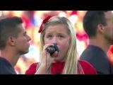 Harper Gruzins 'worst National Anthem ever' at MLS game