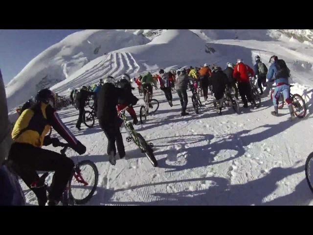 Saas Fee Glacier Bike Downhill 2012 - Adam (120)